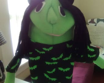 Wicked Witch puppet for 15 dollars