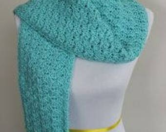Crochet Scarf Pattern-Instant Download-Shell Stitch Scarf-Scarves-Scarves &Wraps-Winter Accessory-Crochet Pattern-Pattern by Amanda Crochets
