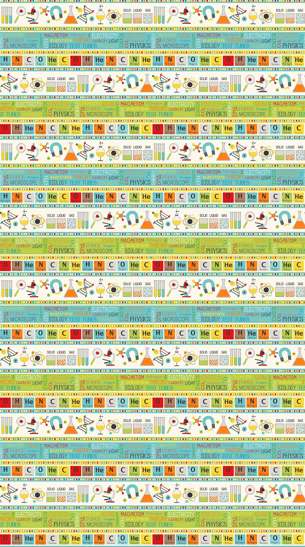 Little genius border stripe fabric 21531 11 you choose size 500 shipping gamestrikefo Gallery