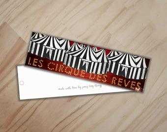 Les Cirque Des Reves Bookmark - Night Circus Bookmark