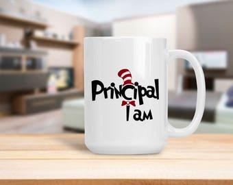 Principal I Am Mug, Back to School Teacher Appreciation Gift, Gift for Professor Instructor Teacher Principal, School Administrator Gift