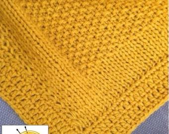 Ocher-color blanket