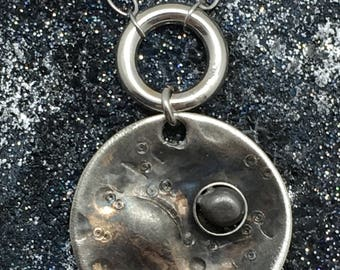 Handmade Meteorite Necklace - unique handmade necklace - gifts for science geeks - science nerd gifts