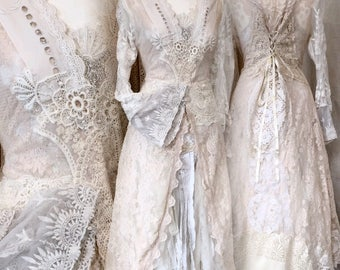 Wedding lace jacket , long bridal coat , unique wedding jacket,boho deluxe,wedding , dream wedding accessories , vintage lace