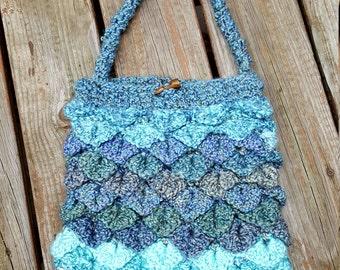 Shoulder bag Mermaid tears design purse