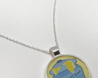 "Hundred Acre Woods ""No Bothers Given"" Necklace"