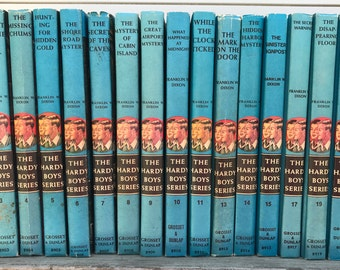 Vintage Childrens Books The Hardy Boys Series