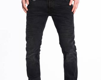Black Jeans - Mens Jeans - Mens pants - Anniversary gift for men - ROBBY-FW17-2