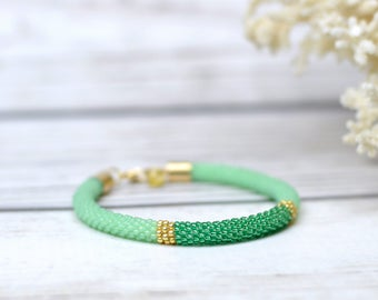 Outdoors gift mermaid jewelry mint green bracelet friendship bracelet womens gift|for|sister bridesmaid gift summer party jewelry boho