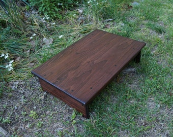 Handcrafted Heavy Duty Step Stool 24 Long X