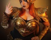 Signed Cosplay print of 'Valkyrie Pokemon Pidgeot' cosplay by PretzlCosplay A4 size