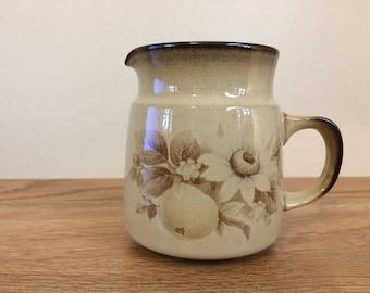 Vintage Denby England Stoneware Memories Tall Creamer 1980s