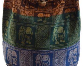 Hobo bag, Boho bag,Elephant bag,  Hippie, Hippy, Shoulder bag, Sling bag, Thai bag, Gypsy purse, Boho crossbody bag