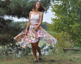 Woman's skirt, whirling skirt