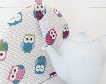 Tea Cosy, Owls Tea Cosy, Tea Cosy, Kitchen Accessory, Tea Time, Cute Owls, Gift