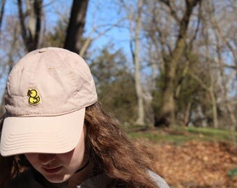 yellow duck patch hat