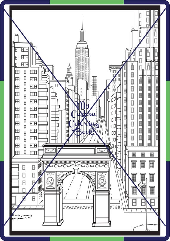 new york city coloring pages - photo#11