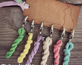 Hank You Very Much Stitch Markers, crochet stitch markers, knitting stitch stitch markers