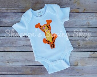 Tigger Shirt, Winnie the Pooh Shirt, Tigger Birthday