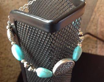 BoHo Collection's Turquoise Lights Bracelet