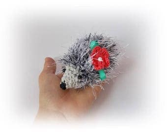 Hedgehog crochet toys hedgehog Plush Gift for her for kids Stuff Crochet toy Amigurumi Animal Amigurumi Crochet toys