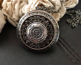 Coast guard locket necklace, Coast guard wife gift, Coast guard mom gift, Coast guard girlfriend necklace, military gift, keepsake locket