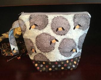 Puffy Sheep Knitting Project Bag