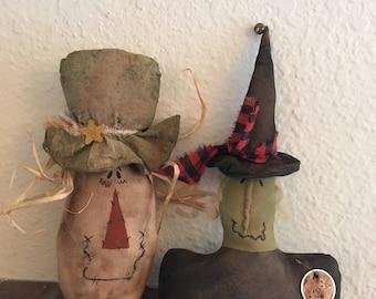Fall halloween primitive bowl fillers cupboard tuck set                                                  (FAAP)