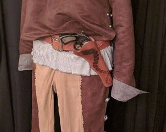 Armistice gungslinger western cosplay costume, Westworld costume, custom commission costume