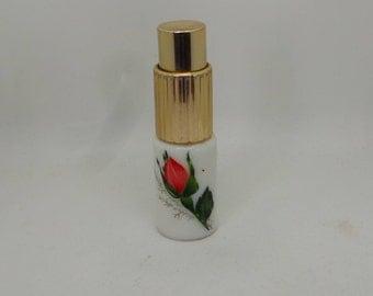 Vintage rose perfume atomizer