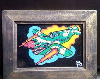 War airplane Frame
