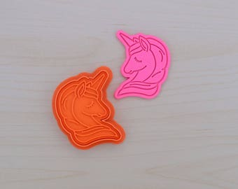 Unicorn 101 Cookie Cutter and Stamp Set