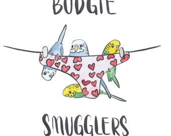 Budgie Smugglers - Valentines Card