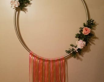Hoop etsy for Hula hoop decorations