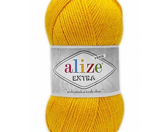 Аcrylic and wool yarn EXTRA ALIZE, lots of yarn, yarn palette, knitting yarn, crochet yarn