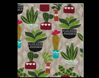 SHIPS TOMORROW - cactus crib sheet or change pad cover , cacti, succulent, free, crib bedding