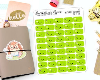 Pay Day Planner Stickers - Money Planner Stickers - Kawaii Planner Stickers - Dollar Bill Planner Stickers - 1101