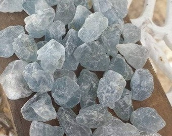 Raw Celestite Stones~AA Quality~Gemmy~Angelic Stone~Stone of healing~Meditation~Reduce stress and anxiety~Soothing~Must have~Alter~Grid work