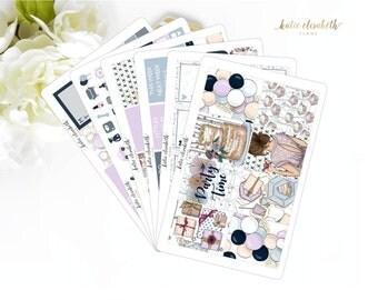 Celebrate Full Vertical Kit || Planner Stickers K-015