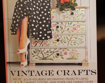 Vintage Crafts:  book on decorating with candles, colors and flea market finds.