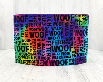 Male Dog Belly band - dog diaper - potty training aid - house breaking - incontienence wrap - Small to Large Sizes -  Woof - READY TO SHIP