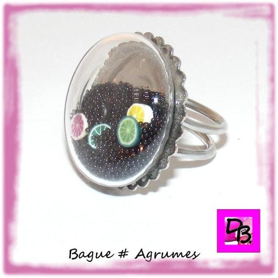 Bague globe [Agrumes]