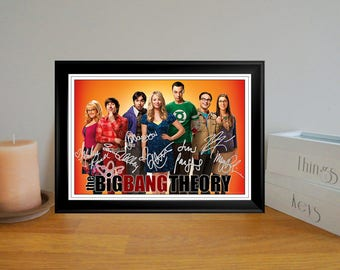 Kaley Cuoco & The Big Bang Theory Cast Autographed Signed Photo Print