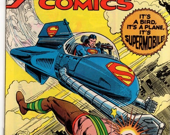 Action Comics #481 DC Comics 1978 F/VF First apperance Supermobile