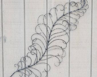 Genial Large Metal Wall Art, Feather Decor, Feather Wall Art, Metal Wall Decor,