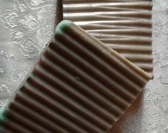 DECADENT Chocolate-Mint PATCHOULI Goat Milk Soap