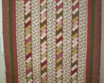 lap quilt, sofa quilt, hand made