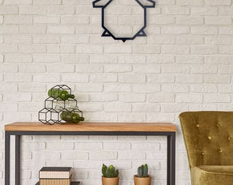 Animal metal wall home decor