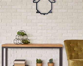 Animal metal wall home decor
