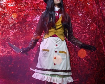 Alice Madness Returns Cosplay Costume Bunny